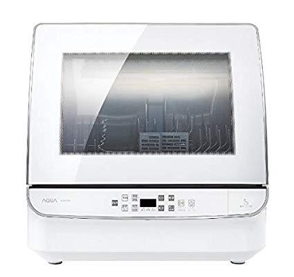 アクア食器洗い乾燥機ADW-GM1-W